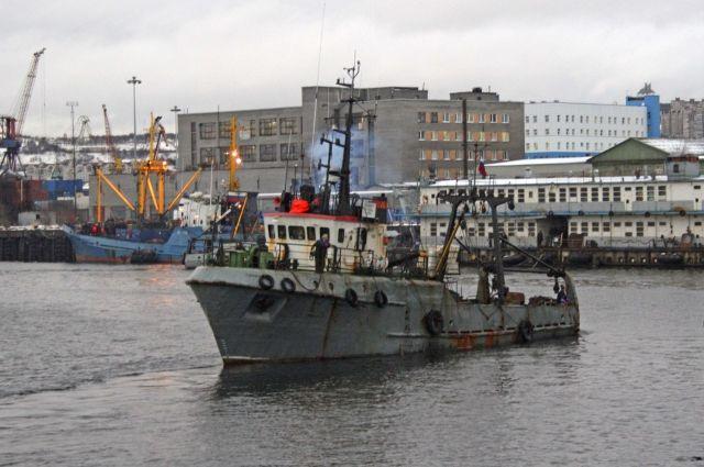 «Туманный» доставил 29 т охлаждённой рыбы.