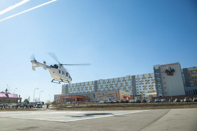 Для посадки вертолётов санавиации созданы пять специализированных площадок в Волгограде, Волжском, Камышине и Урюпинске.