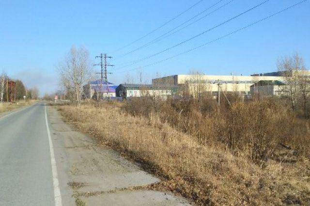 Заброшенный завод, который хотели восстановить.