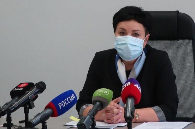 Руководитель управления Роспотребнадзора по Сахалинской области Ольга Фунтусова.