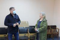 Анатолий Сименяк на встрече со старостами