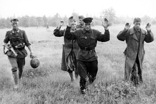 Советские военнопленные, 1941 г.