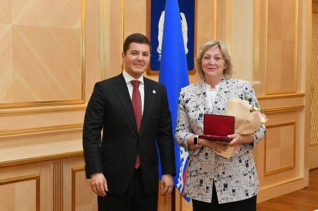 Лучшему наставнику «РН-Пурнефтегаза» вручена государственная награда