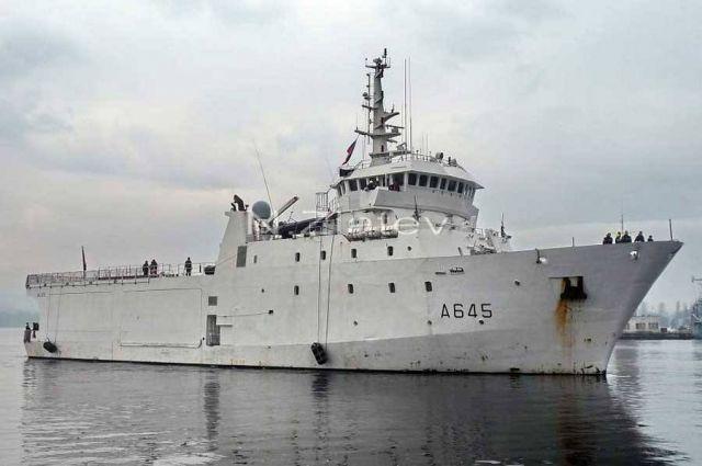 В Черное море прибыл французский разведывательный корабль