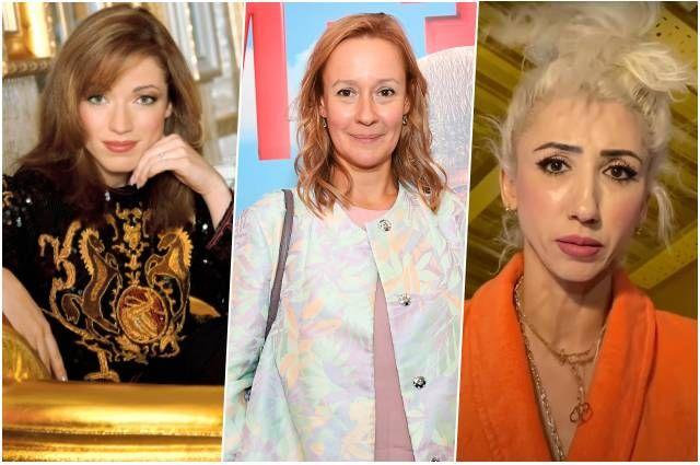 Алена Хмельницкая, Евгения Дмитриева и Лилия Абрамова.