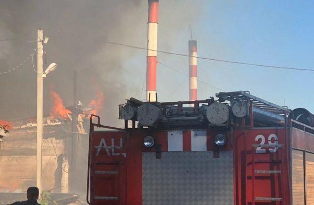 Двое мужчин пострадали на производственном пожаре во Владимирской области