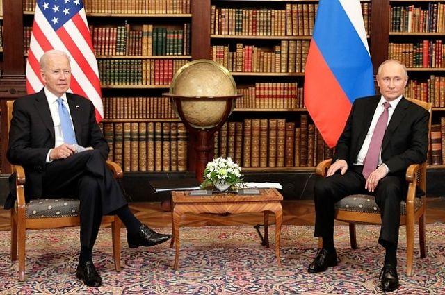Трёхчасовые переговоры президентов Владимира Путина и Джо Байдена накануне прошли в Женеве.