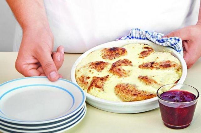 Сырники со сметаной в духовке: рецепт вкусного блюда