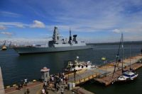 В порт Одессы зашли два корабля НАТО.