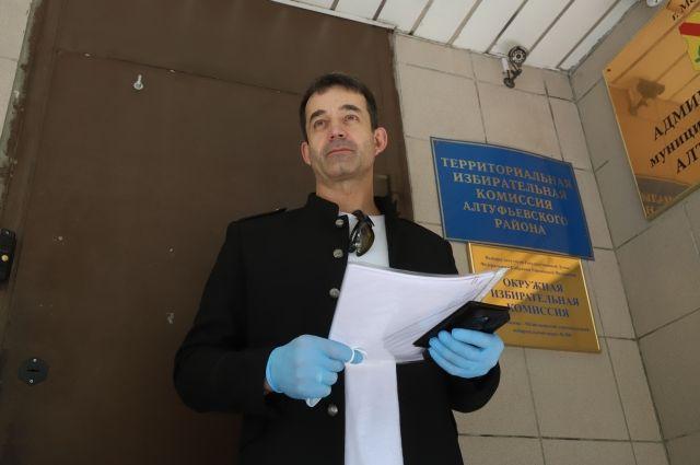 Певцов подал документы на выдвижение в Государственную Думу