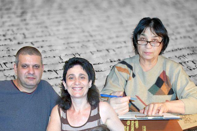 Дело Инны Харитоновой (справа) продолжили её сын Владимир и племянница Наталья.