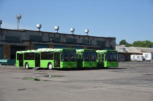 Курская область получила 31 поддержанный автобус из Москвы