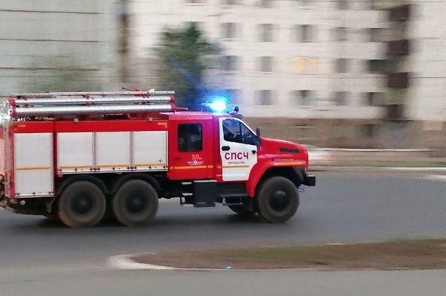 Надворная постройка загорелась на улице Механизаторов в поселке Чистый.