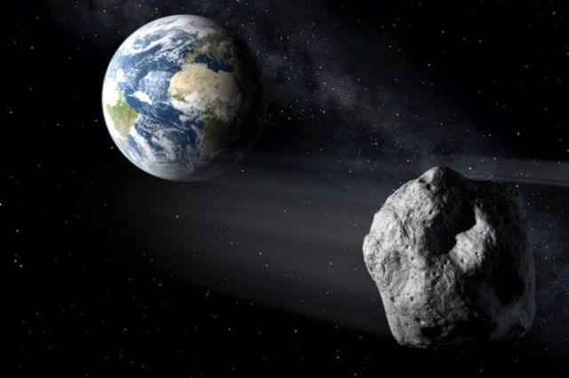 На Землю летит астероид размером с два футбольных поля.