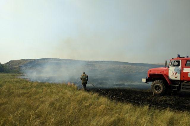 Чрезвычайная пожарная опасность местами в регионе сохранится до 24 июня.