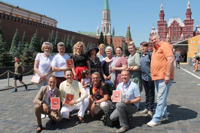 На Красной площади завершился книжный фестиваль.