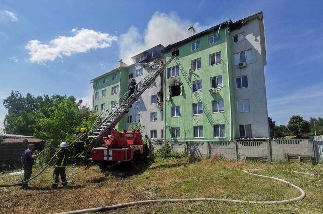 Взрыв в пятиэтажном доме под Киевом: среди пострадавших – ребенок