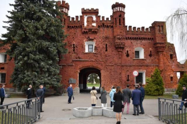 Холмские ворота мемориального комплекса «Брестская крепость – герой».