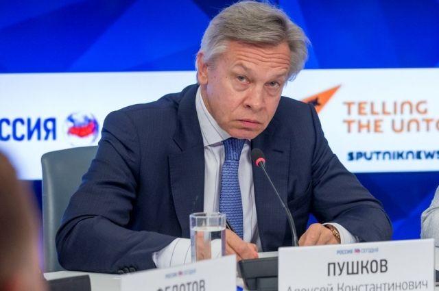 Пушков раскритиковал заявление экс-главы МИД Польши о России