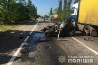 В Николаевской области произошло ДТП: два человека погибли