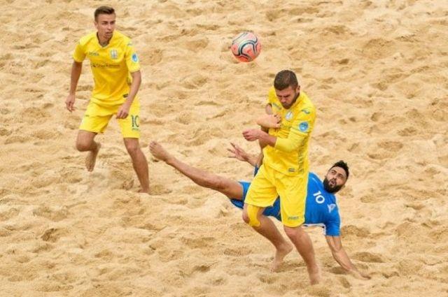 Пляжный футбол: сборная Украины сыграет с Казахстаном в отборе на ЧМ-2021.