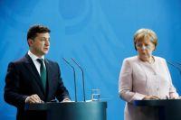 Стали известны подробности переговоров Зеленского и Меркель