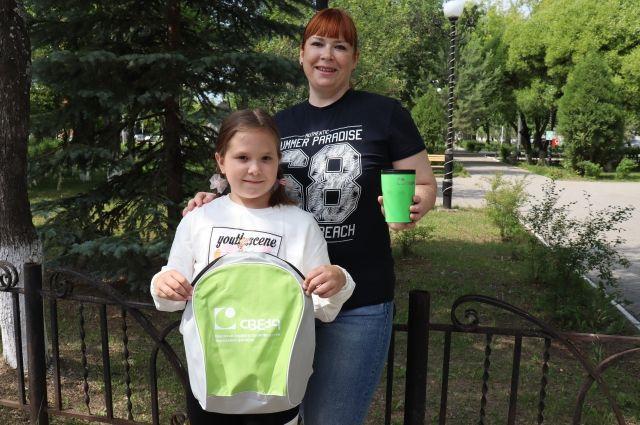 Абсолютный победитель Татьяна Самойленко и её дочь.