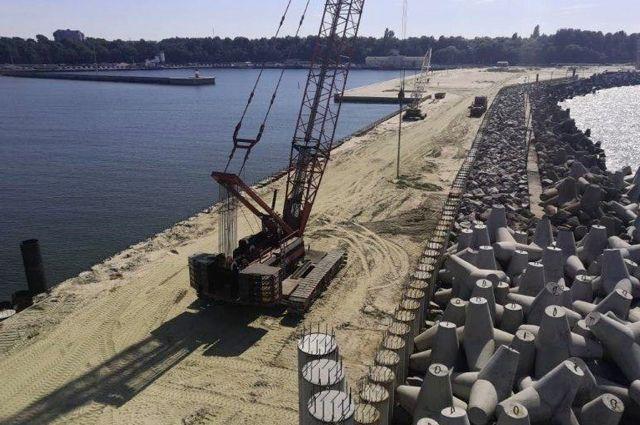 Ввод в эксплуатацию порта в Пионерском перенесен на 2023 год
