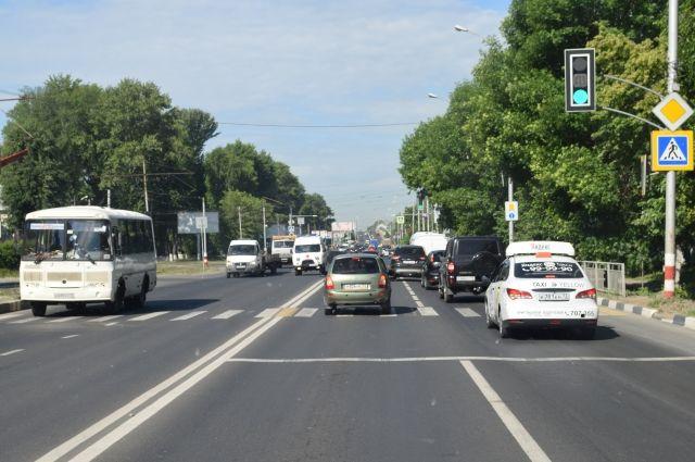 Термопластиковую разметку на дороги Ульяновска нанесут до 10 июля