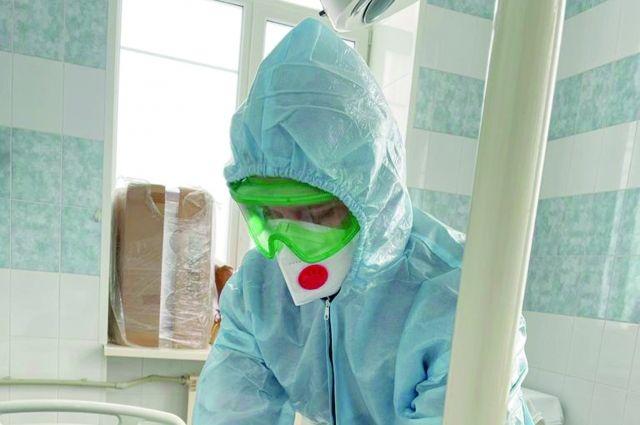 В случае ухудшения эпидобстановки в регионе готовы дополнительно развернуть ещё 800 койко-мест.