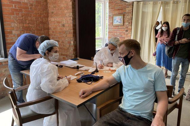 В Калининграде открыли первый в России пункт вакцинации на базе общепита