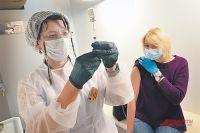 В регионе вакцинировали всего 30 % от плана.