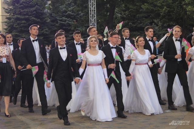 Фото с Губернаторского бала в Краснодаре, 2019 год.