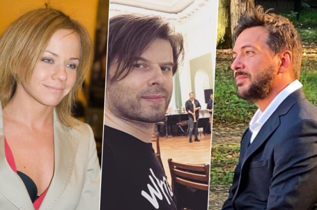 Лена Перова, Олег Добрынин и Алексей Романоф.