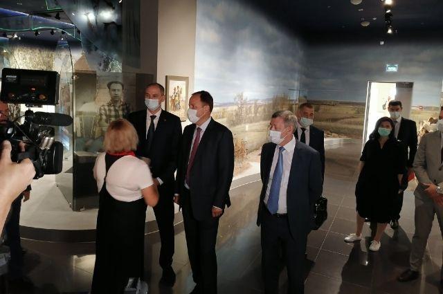 В музее В.С. Черномырдина проходит заседание Ассоциации законодателей Приволжского федерального округа.