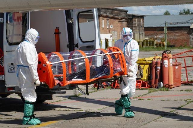 10 человек за сутки скончались от коронавируса.