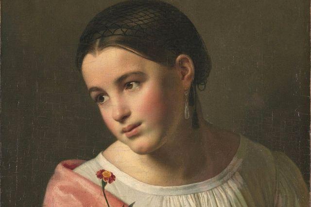 Орест Кипренский «Бедная Лиза», 1792 г.