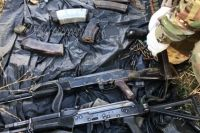 В Чечне до сих пор находят тайники с оружием, спрятанным боевиками несколько лет назад.