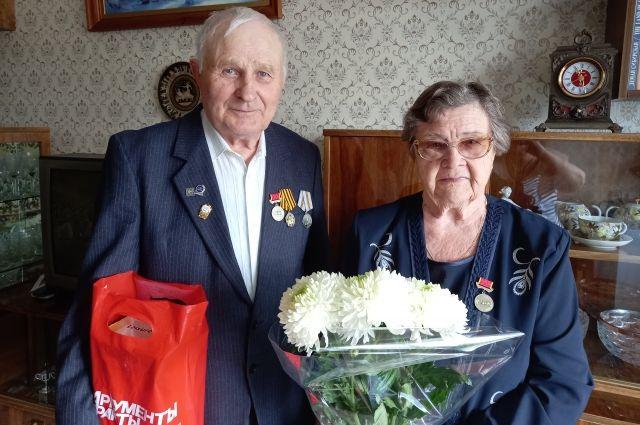 Валентина Семина и Михаил Алифанов – бывшие узники концлагерей.