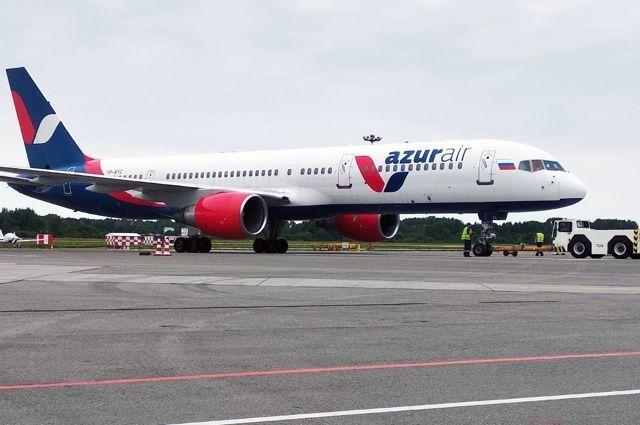 На первом рейсе из Калининграда в Турцию полетел 151 пассажир