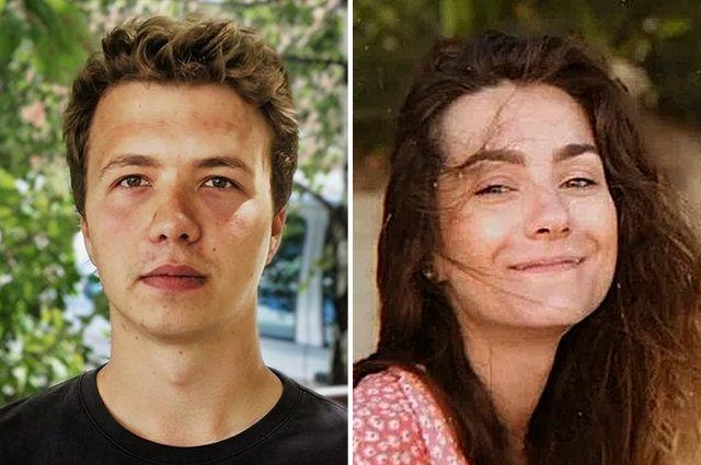 Роман Протасевич и Софья Сапега.