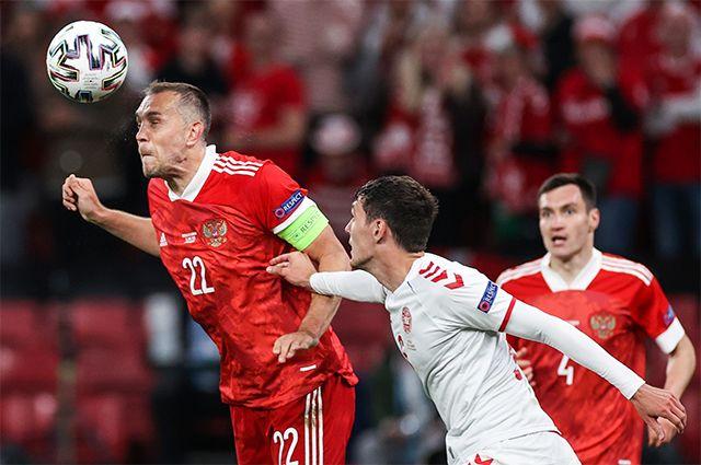 Групповой этап чемпионата Европы по футболу 2020 между сборными командами России и Дании.