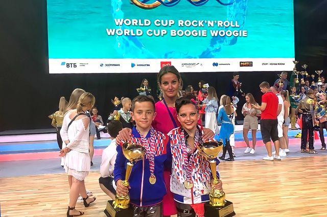 Калининградцы выиграли Кубок Мира по акробатическому рок-н-роллу