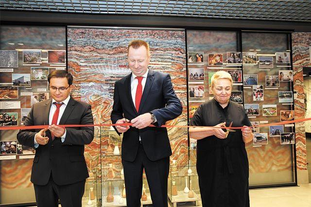 Новый корпоративный музей, который открылся в Соликамске, занимает 450 кв.м.