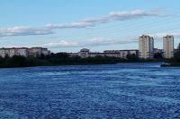 Озеро Оброчное, Тюмень.