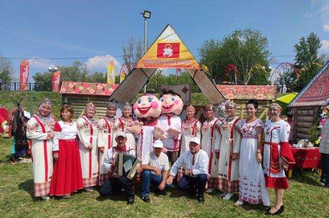 Праздник - живое подтверждение богатства, разнообразия и красоты культуры чувашского народа.