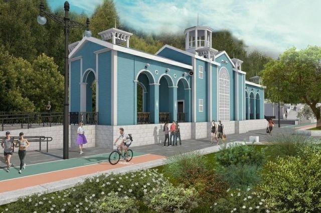 На станции «Комсомольская» Оренбургской детской железной дороги завершается первый этап строительства.
