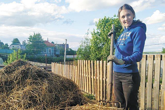 Фермерское хозяйство Ксении Володиной специализируется на разведении коз.