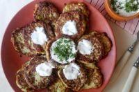 Оладьи из кабачков с брынзой: рецепт вкусного завтрака