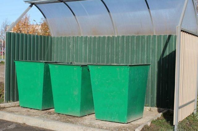 В Оренбуржье стали чаще красть мусорные контейнеры.